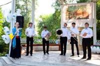 Открытие выставки  в парке «Сокольники»