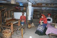 Значимые места: Интерьер Крестьянская изба. Фрагмент театрализованной экскурсии Чудеса в крестьянской избе