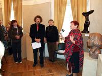 Открытие выставки К.Ф. Куликова