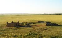 Казахский погребально-поминальный комплекс