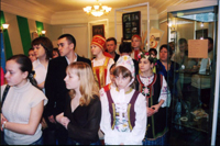 Экскурсия в этнографическом зале