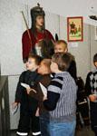 Экскурсия по выставке  «Заступники земли русской», 2010 г.