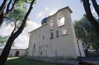 Александр Терехин. Псков. август 2008. Собор Снетогорского монастыря