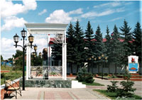Площадь Г.Р. Державина в Лаишево (Татарстан)