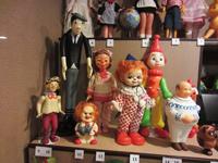 Экспозиция именных кукол (период 1970 гг.)