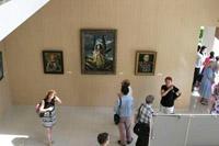 В экспозиции