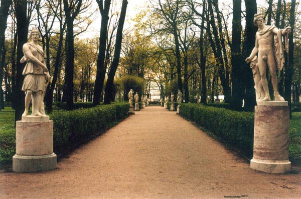 Значимые места: Летний сад
