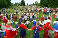 II Межрегиональный творческий фестиваль славянского искусства «Русское поле» в Коломенском