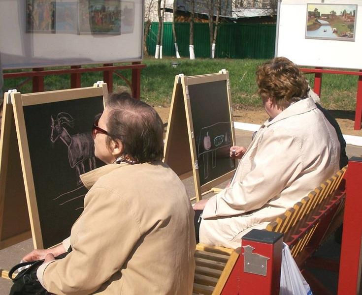 Значимые места: Мастер-класс по спонтанному рисованию
