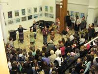 Открытие выставки Юные таланты