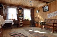 Значимые места: Интерьер дома-музея детских лет Ю.А. Гагарина в с. Клушино