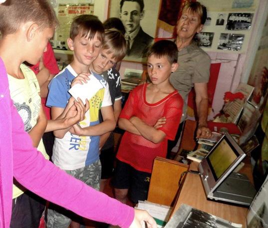 Значимые места: Экскурсия Великая Отечественная война в судьбах села Куликово