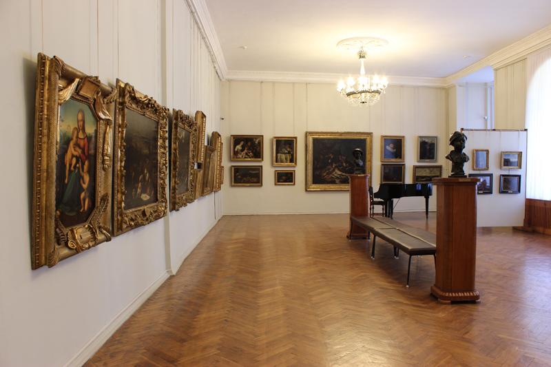 Значимые места: Зал западноевропейского искусства XVI-XIX вв.