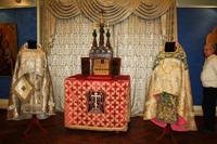 Экспонаты Пугачевского  музея в Самарском художественном музее на выставке  Христианские истины