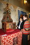 Походная церковь на выставке  Христианские истины в Самарском художественном музее