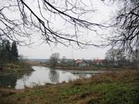 Вид на деревню Захарово.  Фото Е.Бабичевой