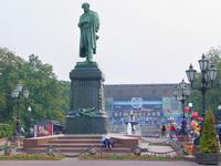 Пушкинская площадь. Памятник Пушкину.