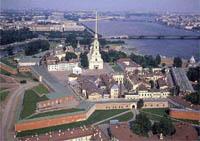 Значимые места: Вид на Петропавловскую крепость