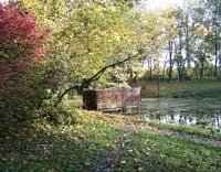 Купальня на Среднем пруду