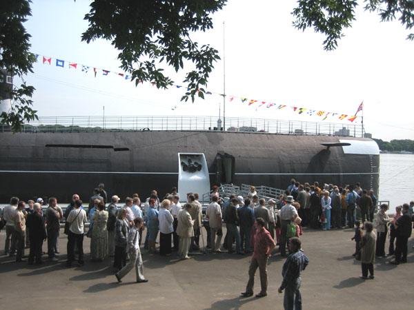 Значимые места: Музей Подводная лодка