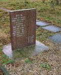 Памятный камень невдалеке от мемориального комплекса Дубосеково. Фото Е.Бабичевой