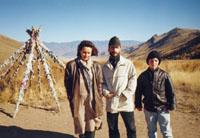Значимые места: Туранское ОВАА на одном из перевалов по дороге Туран-Кызыл