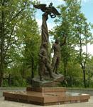 Памятник погибшим десантникам Псковской  роты