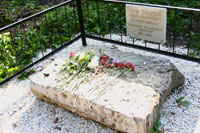 Значимые места: Могила графа Ильи Андреевича Толстого в Казани