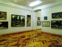 Экспозиция зала Русское искусство начала ХХ века