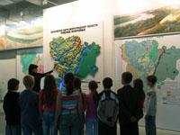 Экскурсия в зале Природа Волгоградской области