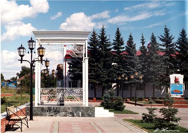 Значимые места: Площадь Державина в г. Лаишево