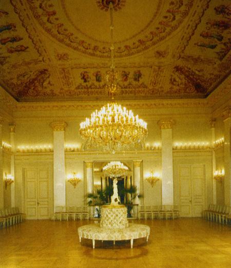 Значимые места: Танцевальный зал (быв. Юсуповский дворец)
