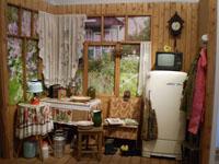 Терраса садового домика на 6-ти сотках
