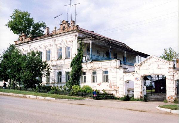 Значимые места: Дом фабриканта С.В. Комарова. 1870-е гг.