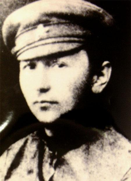 Значимые места: Ярослав Гашек. Фото 1918 г.