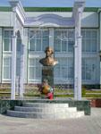 Бюст Г. Р. Державина в р.п. Лаишево в Татарстане