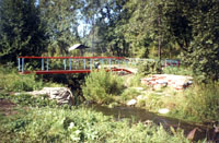 Мельничный водопад в окрестностях д. Миннибаево