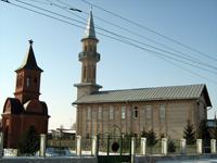 Мечеть в пос. Нижняя  Мактама