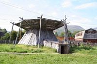 Корякское полуподземное жилище коряков-нымыланов
