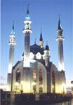 Мечеть Кул-Шариф в Казанском Кремле. Открыта в июне 2005 г.