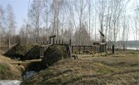 Реконструкция ритуального городища в музее-заповеднике Тюльберский городок