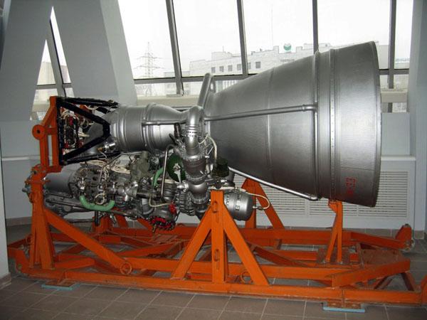 Значимые места: Жидкостный ракетный двигатель НК-33