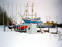 Территория морского музея
