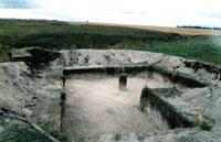 Раскопки близ с. Тюлячи