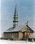 Мечеть. Открыта в 1995 г. Построена на месте старой мечети XIX в.