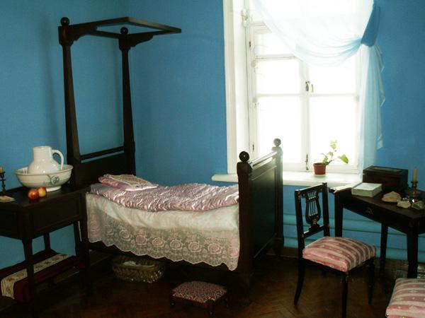 Значимые места: Комната Сережи Аксакова