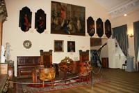 Фрагмент экспозиционного комплекса «Дворянские усадьбы Курской губернии»