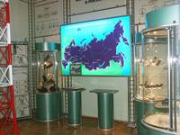Экспозиционный зал История мобильной связи
