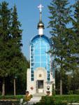 Часовня, где захоронен летчик-космонавт СССР А.Г. Николаев