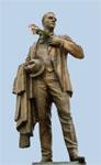 Памятник Ф.И. Шаляпину в Казани. Открыт в 1999 г.